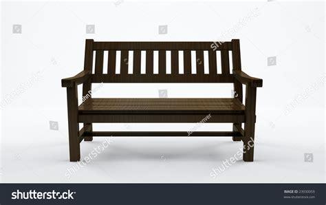 bench stock bench on white background stock photo 23930059 shutterstock