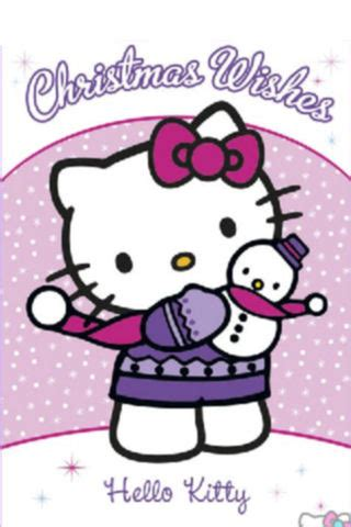 kitty christmas iphone wallpapers  kitty