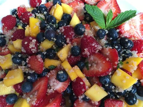 agave fruit agave lime quinoa fruit salad simple sojourns