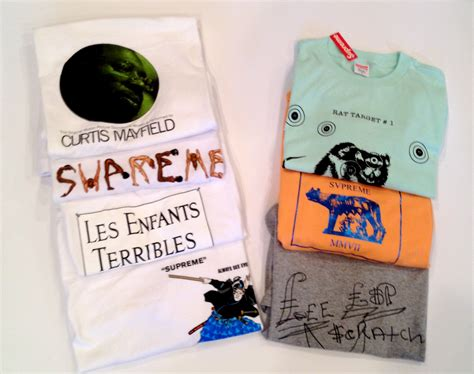 supreme tees for sale just added to the shop more vintage supreme t shirts