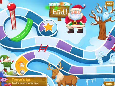 printable winter board games app of the day winter land a christmas board game