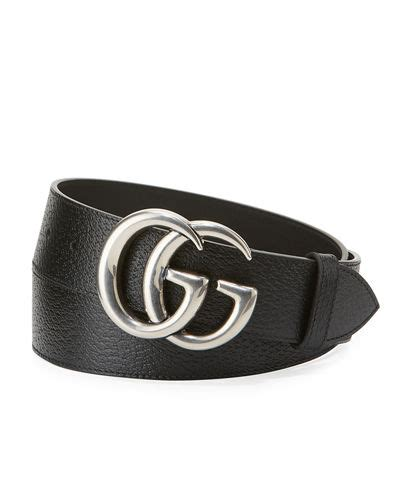 Guc Ci Silver Blue s designer belts at neiman