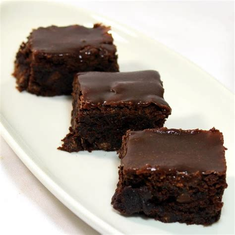 Brownies Fudgie Chocolate moist fudgy chocolate brownies with chocolate fudge glaze eat more chocolate eat
