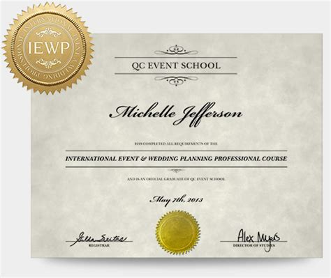 Wedding Planner Degree by Event Wedding Planning Course Qc Event School