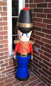 General Foam Plastics Christmas Decorations Diy Outdoor Toy Soldier Christmas Decorations House