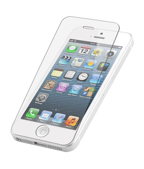 Tempered Glass Screen Guard Apple Iphone 4 4s Merek I Century apple iphone 4 4s tempered glass screen guard by m zone