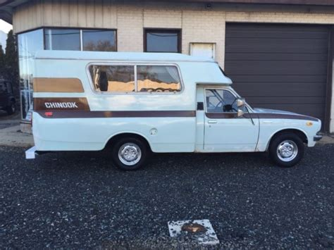 toyota mobile home 1977 toyota chinook cer mobile home low miles for sale