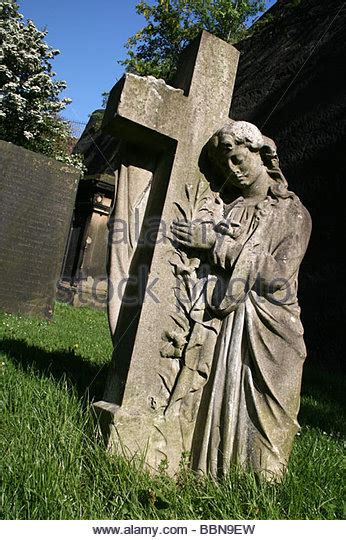 angel gravestone grave headstone stock photos angel