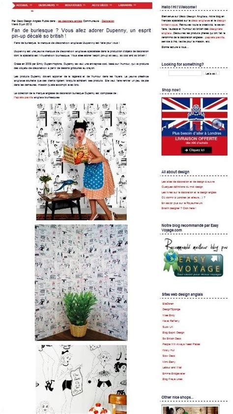 Designer En Anglais by Deco Design Anglais La D 233 Co So Paperblog