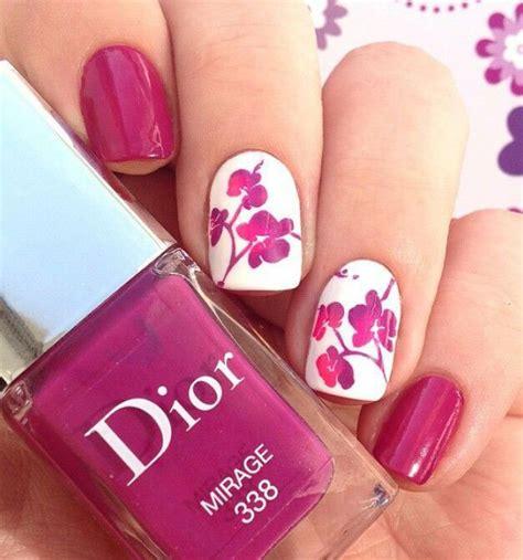 unghie fiori nail primavera 2018 unghie decorate con accent floreale
