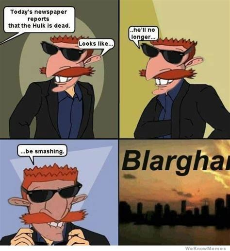 Nigel Thornberry Meme - nigel thornberry the hulk is dead weknowmemes