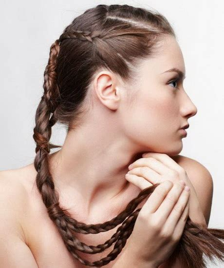 easy quick hairstyles for long thick hair quick and easy hairstyles for long hair