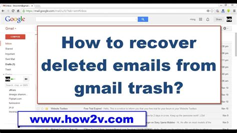 how to retrieve deleted emails from gmail on how to recover restore deleted emails from gmail trash