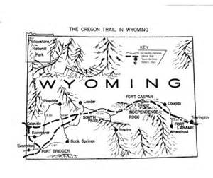 map of oregon trail in wyoming the oregon trail american heritage center ahc news