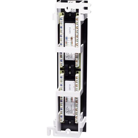 12 port cat6 patch panel 12 ports network patch panel intellinet 560269 cat 6 from