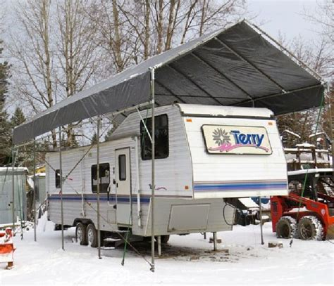 Build Your Own Car Port by 17 Best Ideas About Portable Carport On Rv