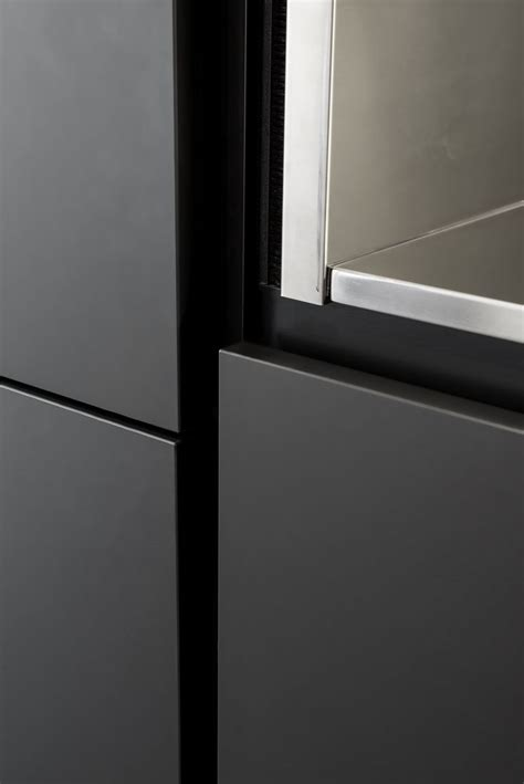 Picture Of Kitchen Design Absolute Black Fenix Ntm New Sources For Inspiration Pinterest Kitchen Design And Kitchens