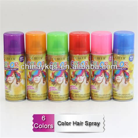 colour hair paint hair color spray in display view temporary spray hair color product