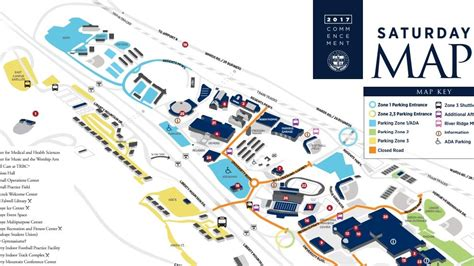 liberty university cus map parking plans for lu s graduation ceremonies wset