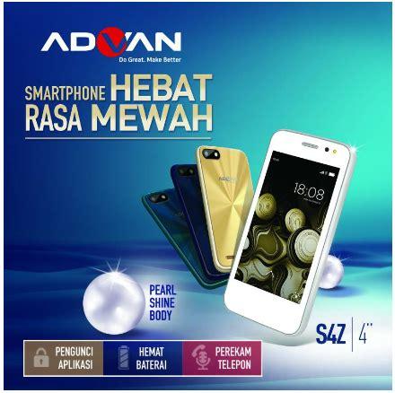Advan Vandroid S4z Plus Ram 512mb Rom 4gb Garansi Resmi Advan 1 Tahun harga advan s4z vandroid terbaru dan spesifikasi harga