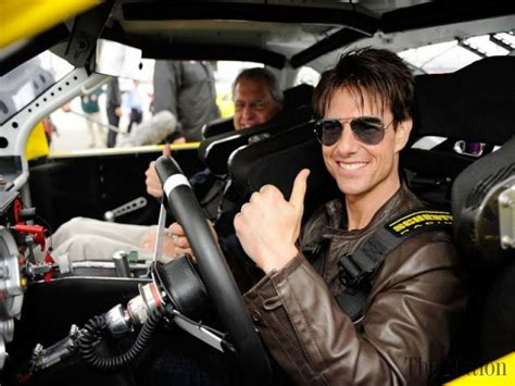 Tom Cruise To Play A Race Car Driver In New by Tom Cruise Drives Race Car