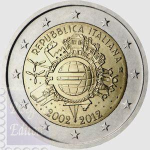 monete fior di conio monete fior di conio unc 2 italia 2012 10