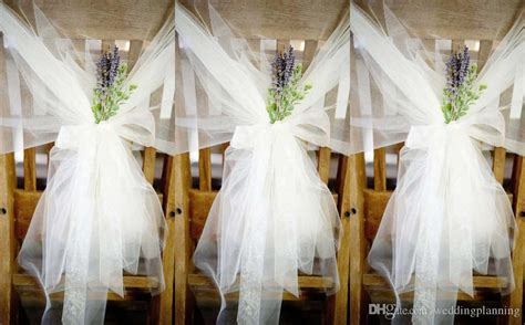 Wedding Chair Bows by Wedding Bows For Chairs