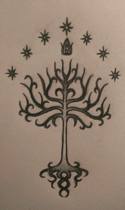 white tree of gondor tattoo best 20 tree of gondor ideas on lotr