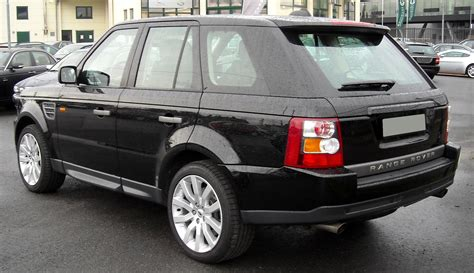 range rover rear land rover range rover sport wikipedia autos post