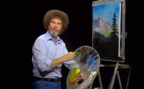 bob ross painting pbs 5 things you ll do bob ross while high leafly