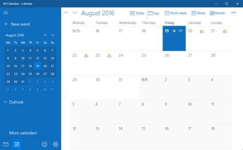 how to sync your calendar with the windows 10 taskbar