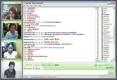 Chat Rooms Web Cams by Free Camfrog Camfrog 3 6