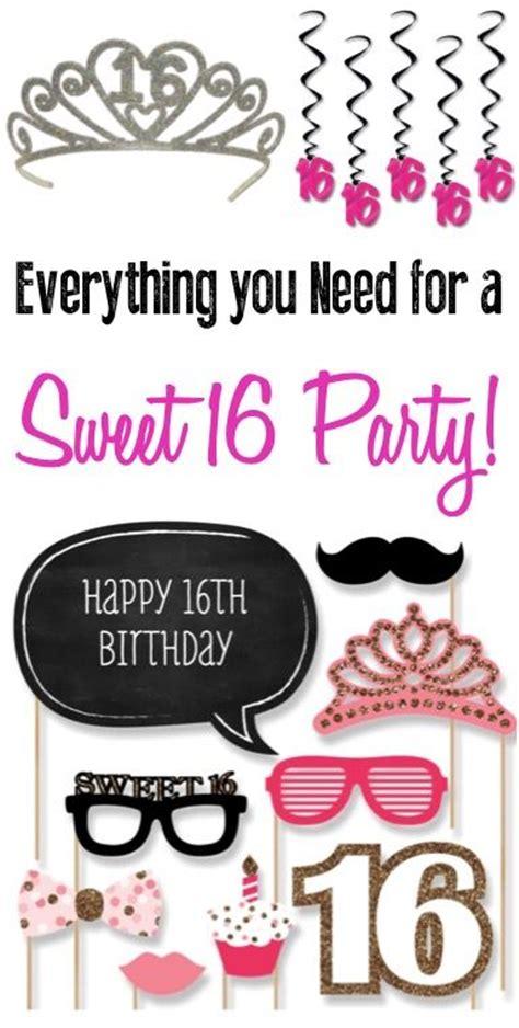 best sweet sixteen ideas best 25 sweet 16 decorations ideas only on