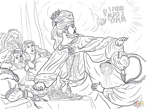 King Belshazzar Coloring Pages | 301 moved permanently