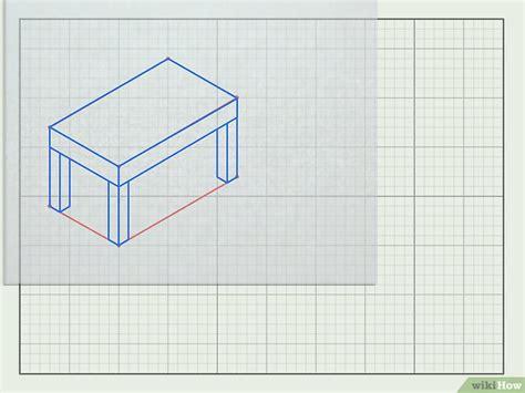 disegnare mobili come disegnare mobili in 3d 27 passaggi illustrato