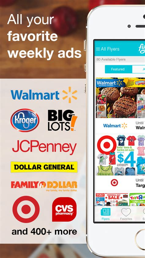 flipp circulars shopping list weekly ads  deals ios