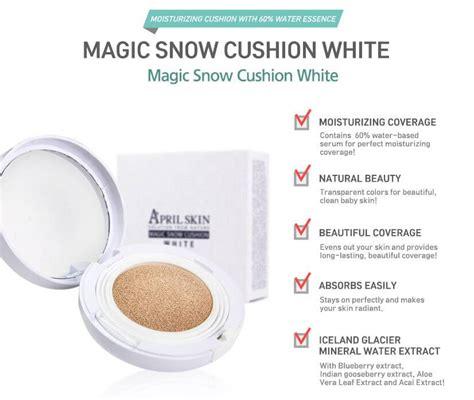Blue Bb Cushion Makeup Color White magic snow white cushion bb makeup foundation spf50
