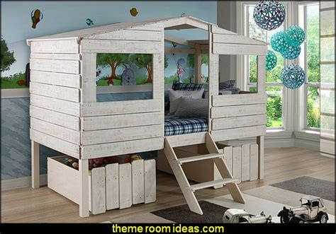 tree house loft bed decorating theme bedrooms maries manor treehouse theme