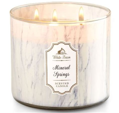 white barn top candles top selling mineral springs white barn scented candle review