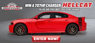 Hellcat Giveaway Promo Code - dream giveaway