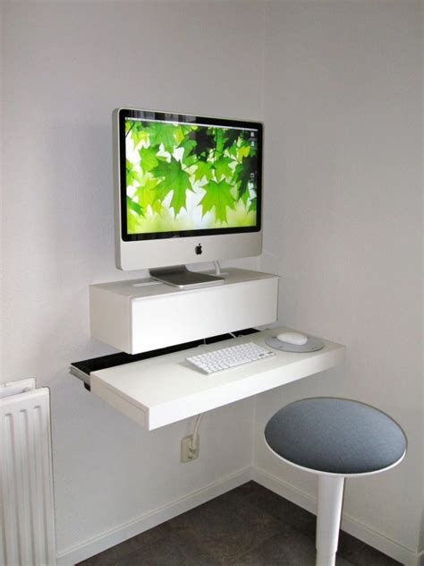 diy floating computer desk great computer desk ideas for small spaces you must see