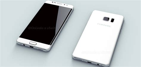 Samsung Galaxy Note 6 samsung galaxy note 6 7 renderbilder notebookcheck