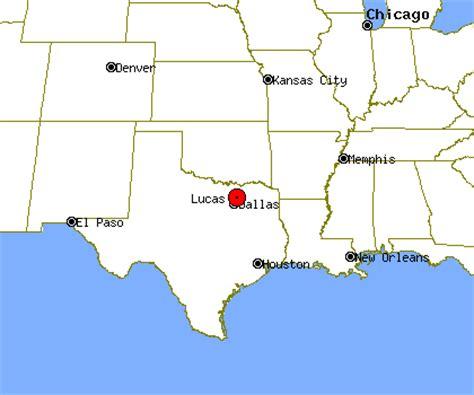 map of lasas texas lucas profile lucas tx population crime map
