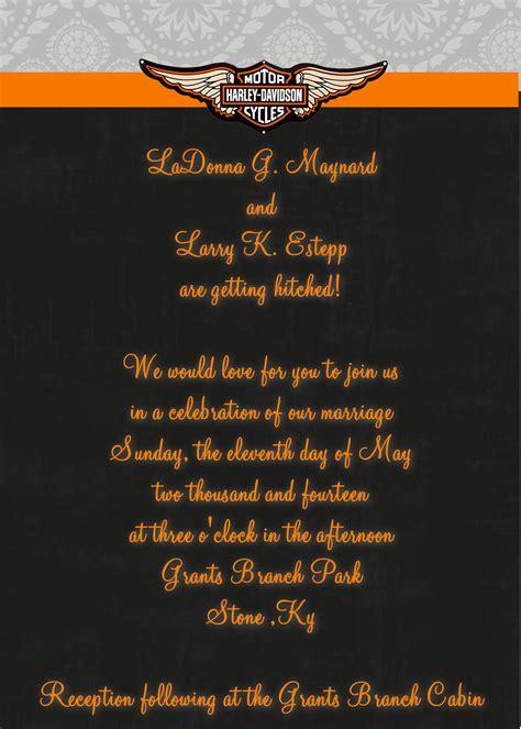 Harley Davidson Invitations Templates Various Invitation Card Design Harley Davidson Invitations Templates