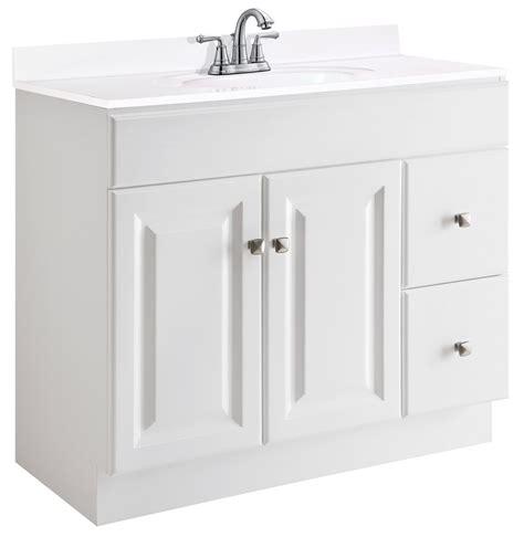 design house wyndham vanity design house 545095 wyndham white semi gloss vanity