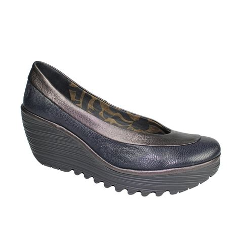 fly shoes fly yoko navy shoes footwear from voila uk