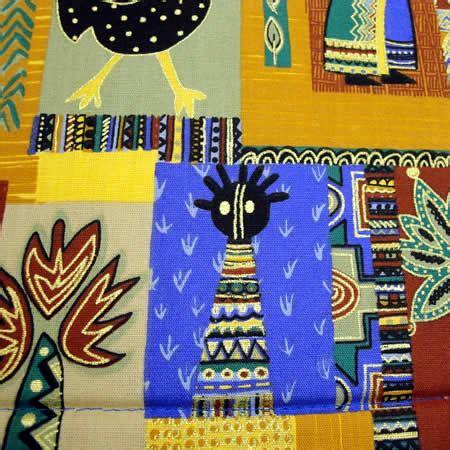 Placemat Dan Runner Set 04 blue bold print placemat table runner set