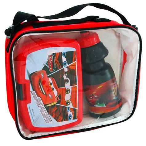 Lunch Set Homio sanifri home lunch set disney cars in tasche mit trinkflasche brotdose wir habens de