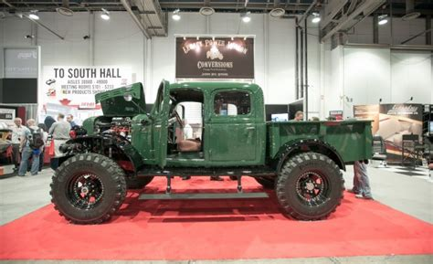 dodge power wagon cummins conversion best of sema 2012 part iii proud to be murican