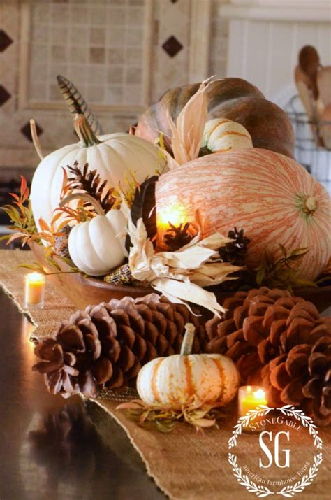 fall decorations to make at home 16 fall and thanksgiving centerpieces diy ideas for fall table decorations